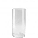 groothandel Woondecoratie: Vaas van het Glas Zylindrus diameter 15 cm, hoog